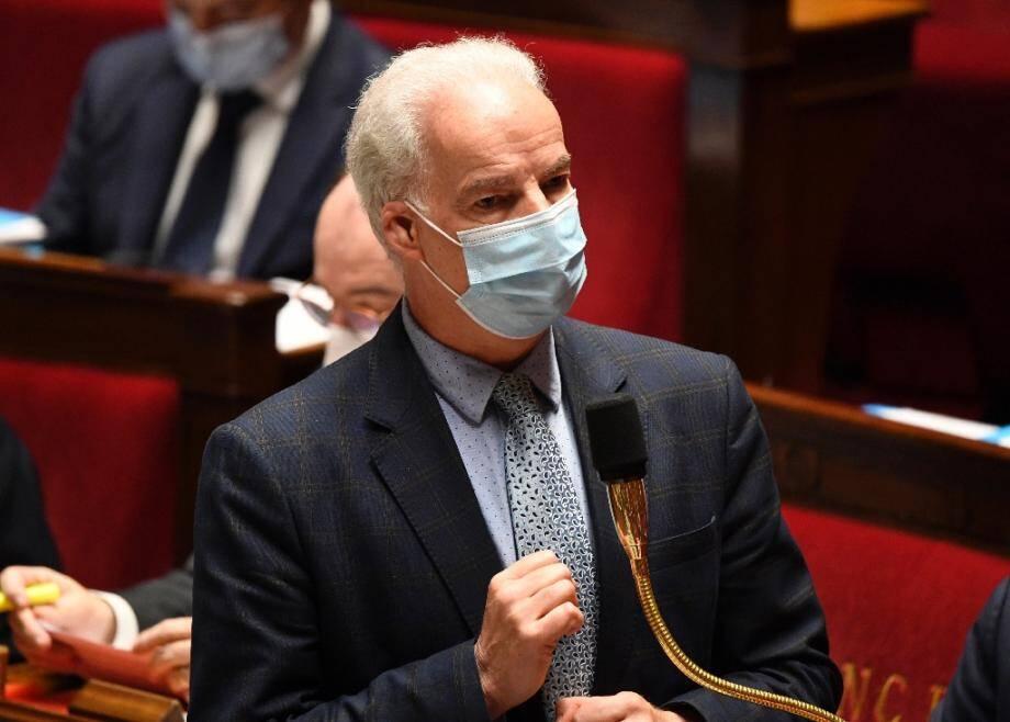 Le ministre délégué aux PME Alain Griset le 17 novembre 2020 à l'Assemblée nationale à Paris