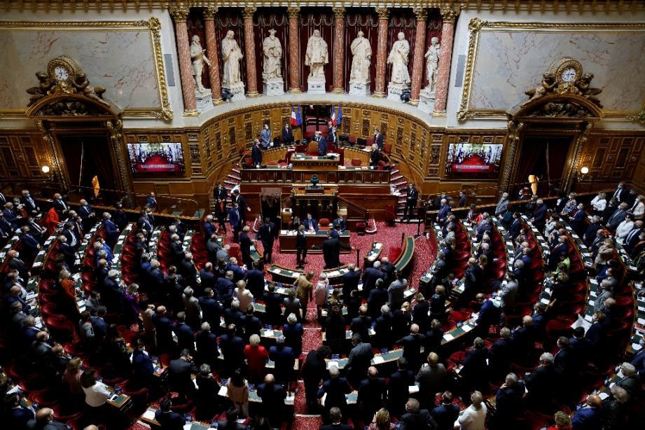 Session du Sénat le 1er octobre 2020 à Paris.