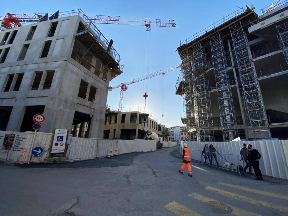 Le chantier devrait s'achever entièrement en décembre 2021.