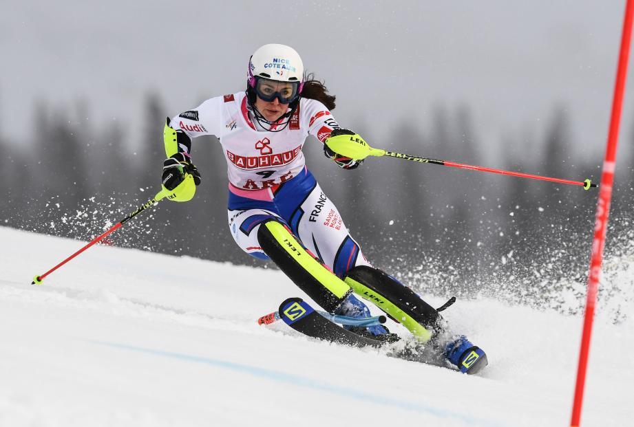 Nastasia Noens à Are, en février 2019.