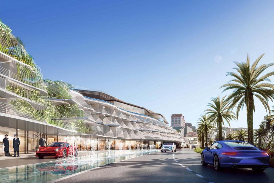 Selon la mairie de Cap-d'Ail et le promoteur immobilier Fondimmo, les riverains n'auront pas la vue mer obstruée par l'hôtel.