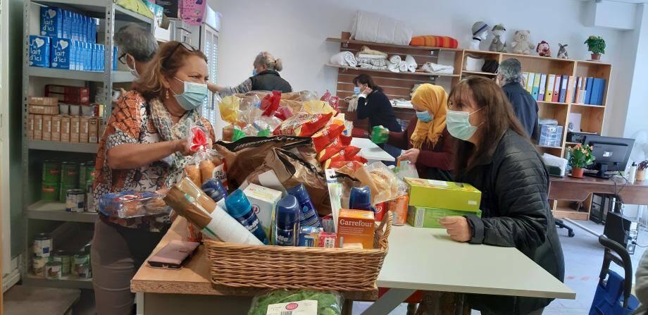 L'aide alimentaire est l'un des composantes essentielles de l'action déployée au quotidien par Bras Ouverts.