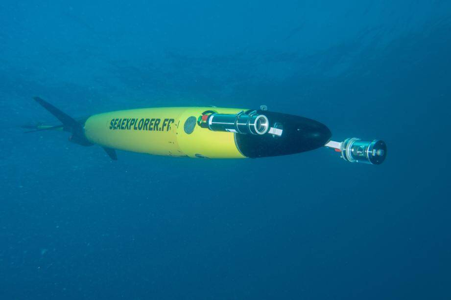 Le glider Seaexplorer est allé jusqu'à 50 km de la Corse en réalisant 83 plongées.(DR)