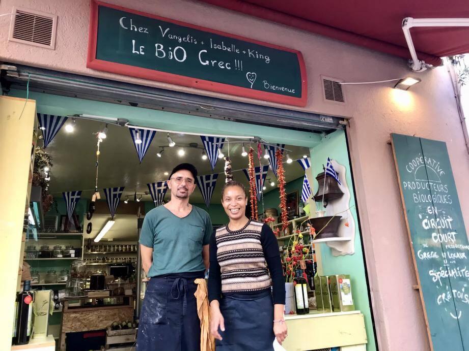 Vangelis et Isabelle, ou la possibilité d'une île grecque, à Cannes...