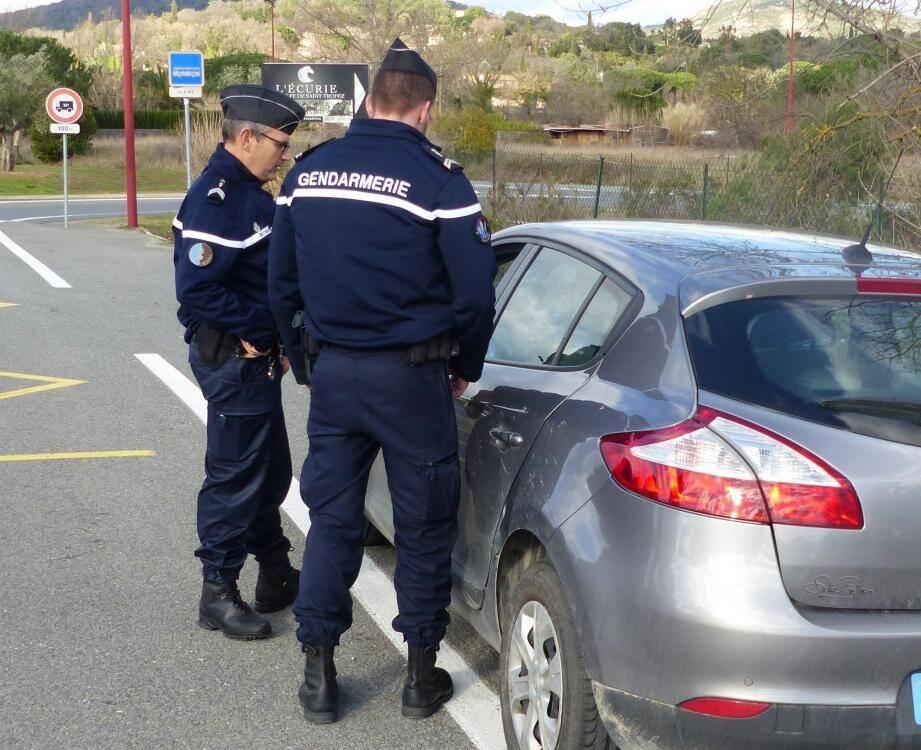 D'un simple contrôle pour excès de vitesse, les gendarmes ont constaté une série de délits.