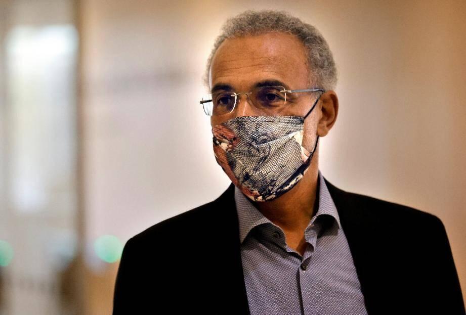 Tariq Ramadan arrive au Palais de Justice de Paris, le 16 septembre 2020