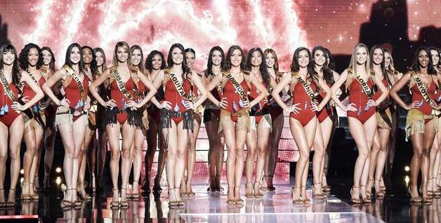 Lors de l'élection de Miss France 2020, à Marseille, le 14 décembre 2019.