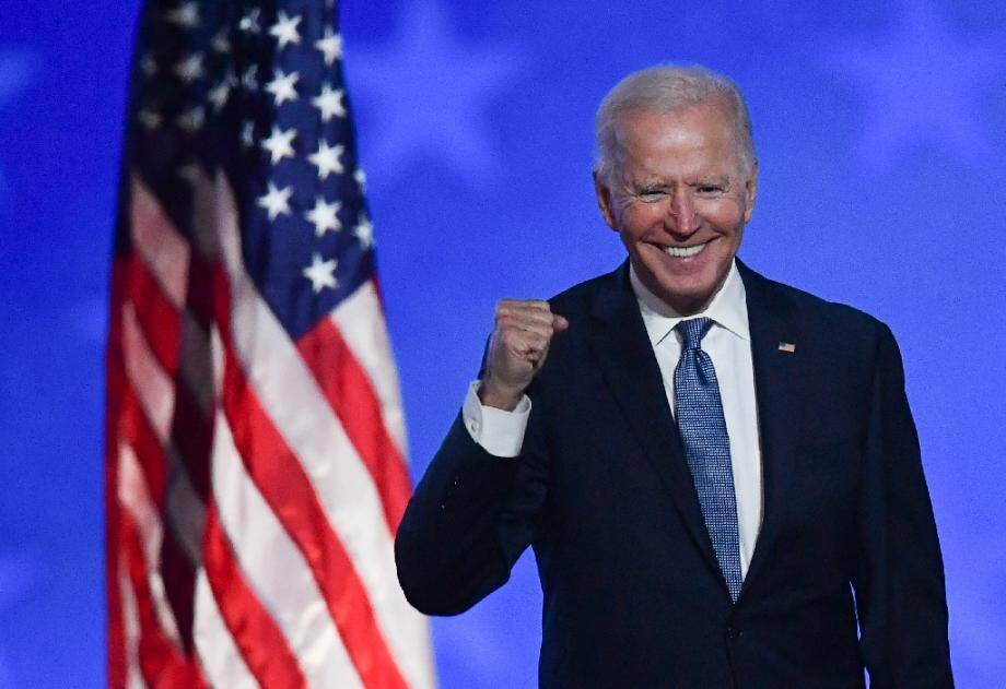 Joe Biden à Wilmington le 4 novembre 2020