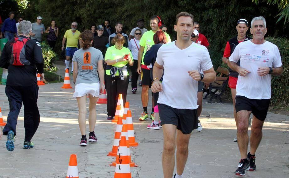 Impossible, cette année, de réunir les coureurs à Fontvieille : c'est chacun de son côté, via une application, que ceux-ci cumulent les kilomètres pour la bonne cause.