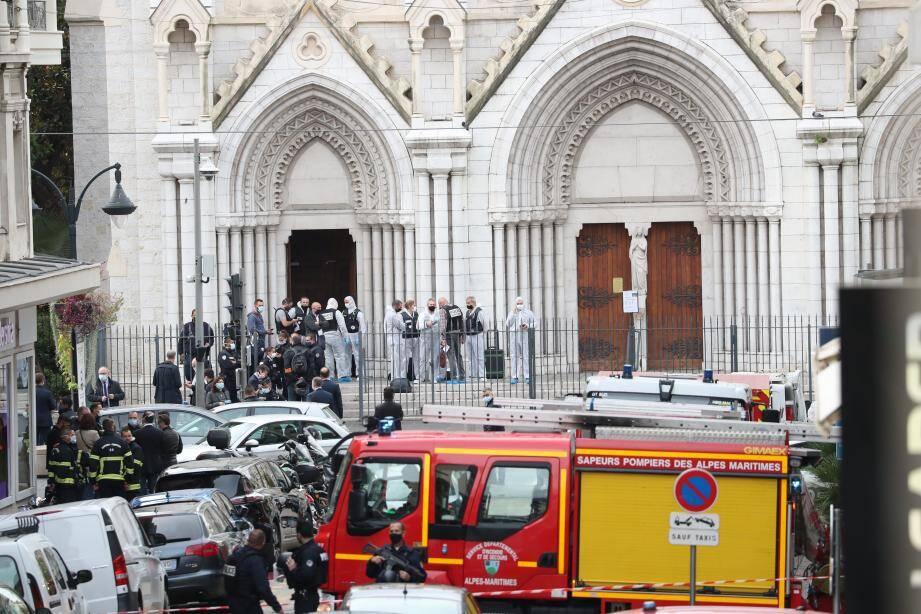 Le 29 octobre, Nice a une nouvelle fois été frappé par un acte terroriste. Trois personnes sont mortes dans l'attaque de la basilique.