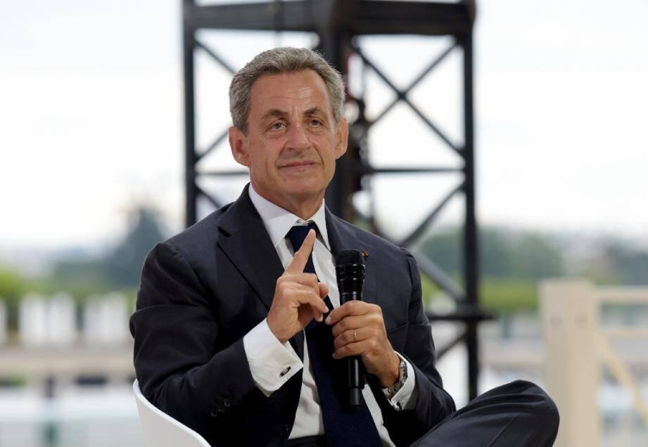 Nicolas Sarkozy, le 29 août 2019 à Paris