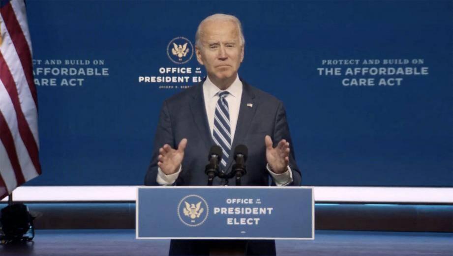 Joe Biden a remporté l'élection présidentielle des Etats-Unis avec 306 grands électeurs.