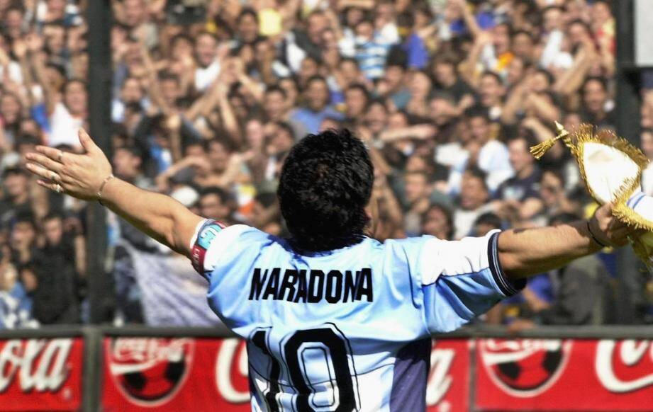 Diego Maradona is considered one of the greatest footballers of all time