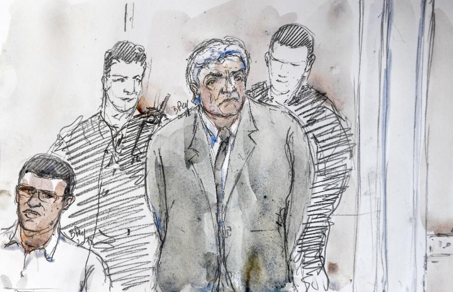 Wojciech Janowski lors de son procès aux assises des Bouches-du-Rhône à Aix-en-Provence, le 17 septembre 2018