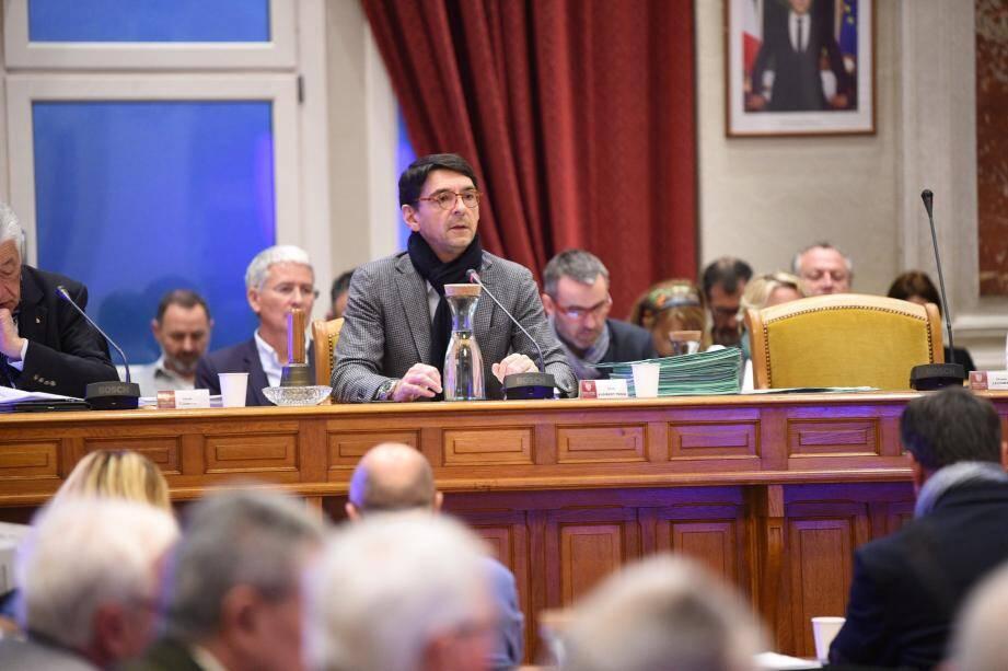 Olivier Audibert-Troin a dirigé la collectivité durant 12 ans, de 2008 à 2020.
