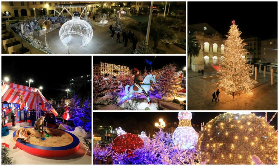 La ville se pare de lumières dès ce vendredi soir et jusqu'au 3 janvier.