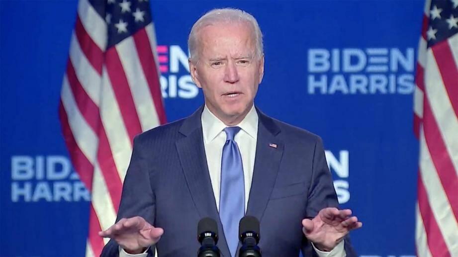 Joe Biden promet d'être