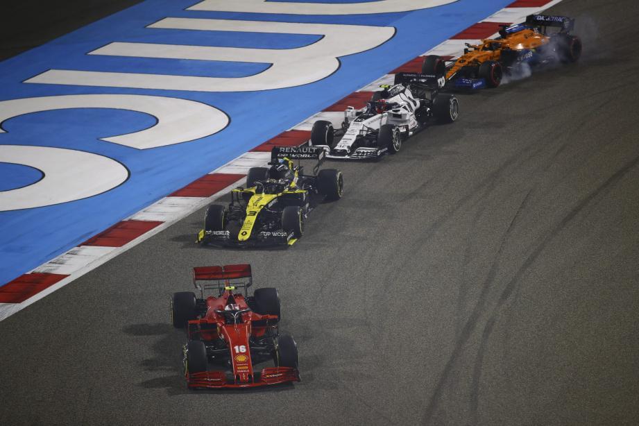 Charles Leclerc ne gardera pas un souvenir impérissable de ce GP de Bahreïn.