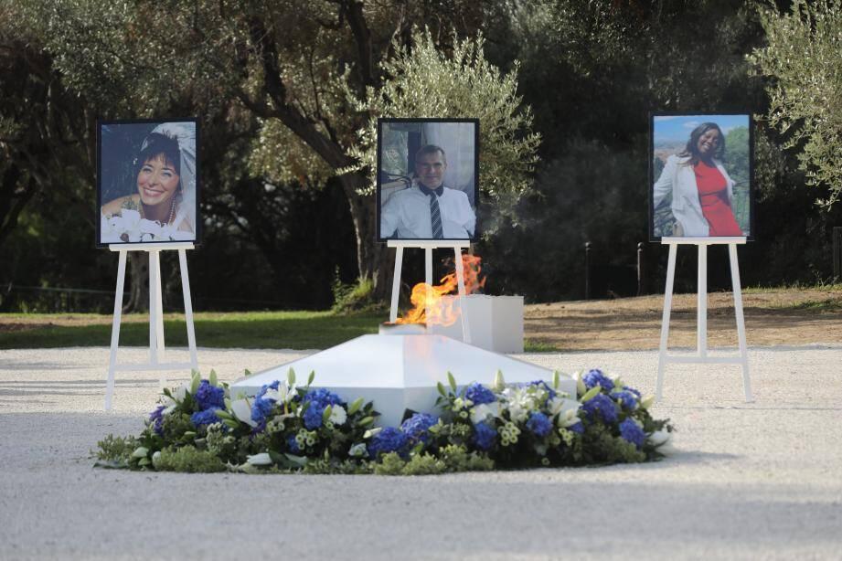 Les trois victimes de l'attaque au couteau à Nice, le 29 octobre.