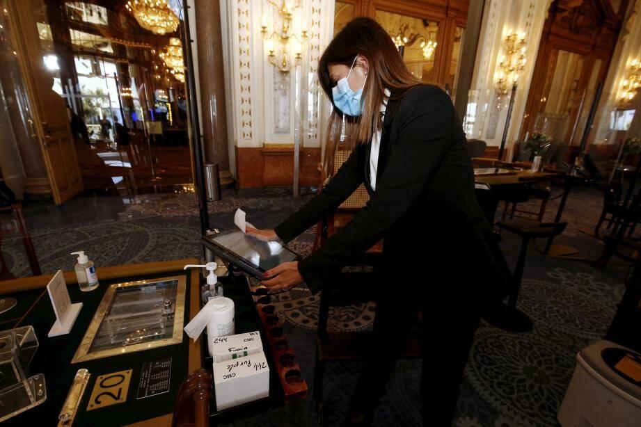 Réouverture du Casino de Monte-Carlo, à Monaco, après le premier confinement. Illustration.