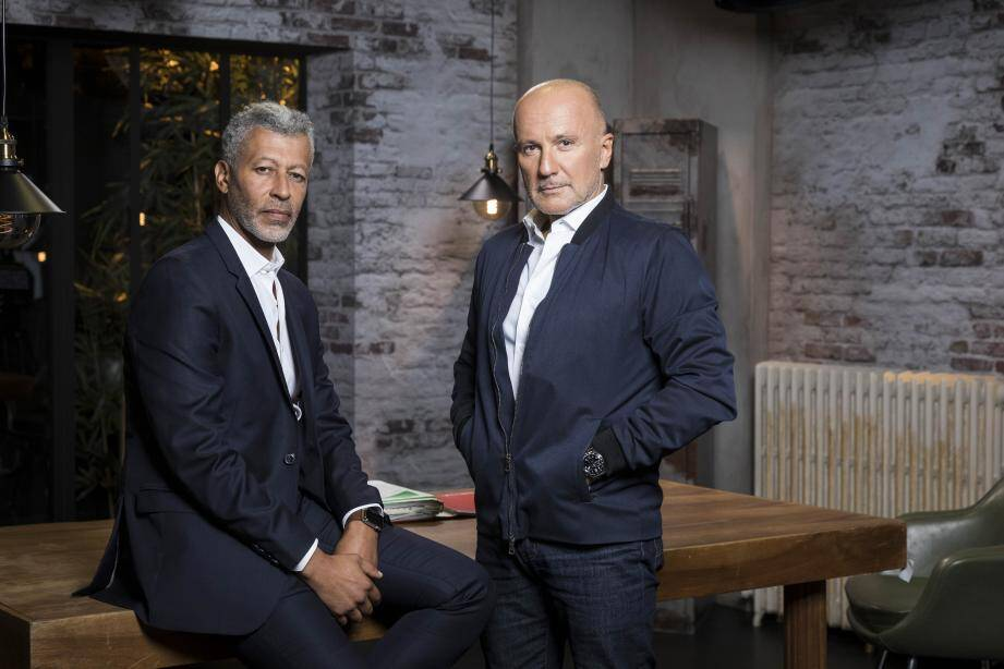 Rachid M'Barki et Dominique Rizet