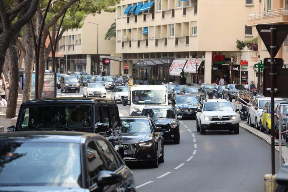 Au cœur de l'été, après confinement, la circulation était bien moins dense que d'habitude.