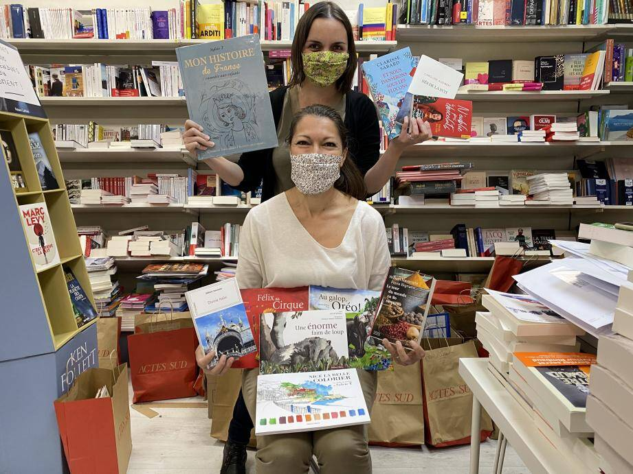 Neuf auteures et illustratrices azuréennes sont attendues à Cagnes-sur-Mer, ce samedi. La séance se déroulera dans le strict respect des règles sanitaires, sans visiteur. Il faut réserver en amont.