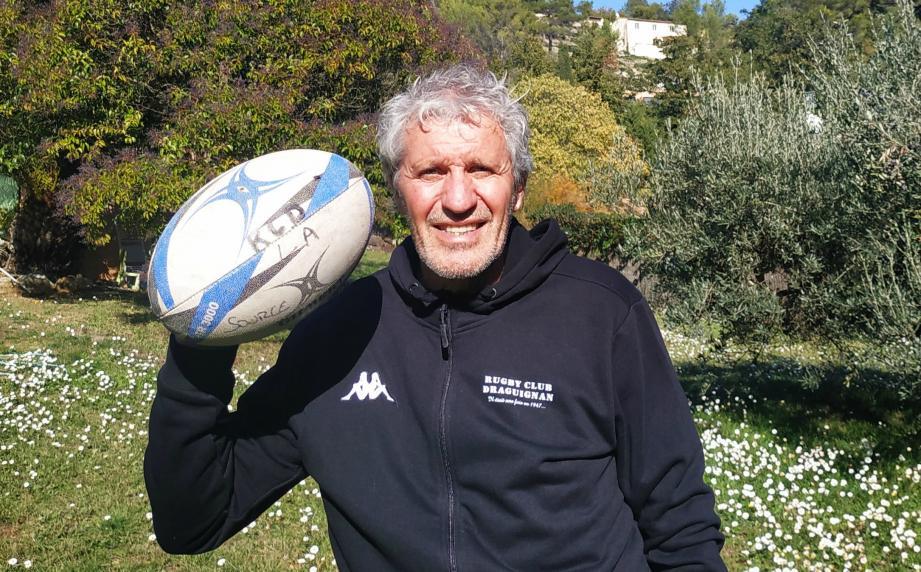 Patrick Rateau, un atout majeur au service du Rugby club Draguignan. Un véritable passionné qui apporte, aujourd'hui, toute son expérience et son savoir faire en qualité de dirigeant.
