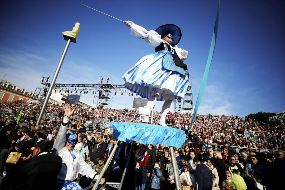 Le carnaval de Nice et les événements d'hiver sur la Côte, ce sont trois week-ends irrigués par une partie des 30 millions de retombées économiques.