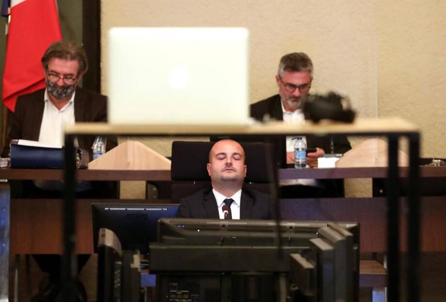 David Rachline, maire de Fréjus, n'a pas été ménagé lors du dernier conseil municipal.