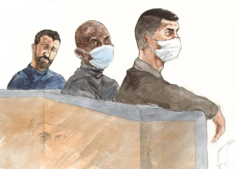 Les trois accusés affirment n'avoir porté aucun coup à Ichem Guerriche le 29 août 2015.