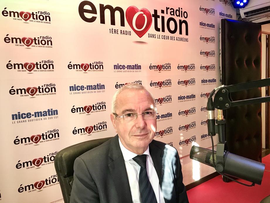 Jean Leonetti, maire d'Antibes et président de la communauté d'agglomération de Sophia Antipolis, était ce samedi 7 novembre à 13h l'invité d'Emotion à la Une, l'émission de la rédaction de Nice-Matin sur Radio Emotion.