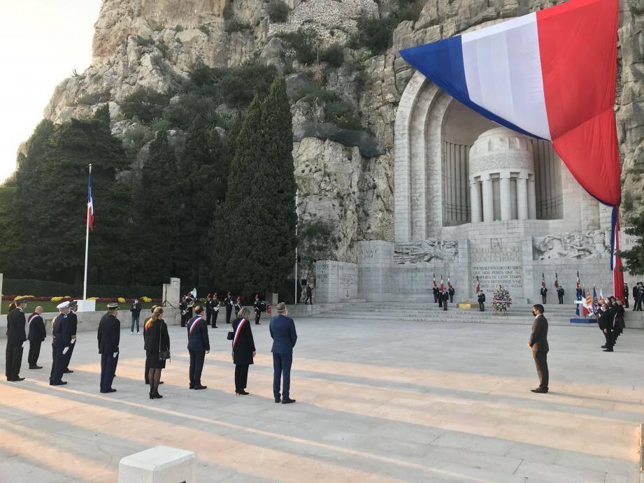 Ce mercredi 11 novembre, a 16h30, Nice a rendu hommage à ses soldats morts pour la France.