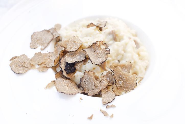 LA RECETTE DU JOUR. Risotto à la crème de parmesan, truffe blanche et truffe d'été