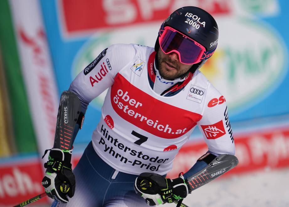 Mathieu Faivre, a été battu en huitième de finale.
