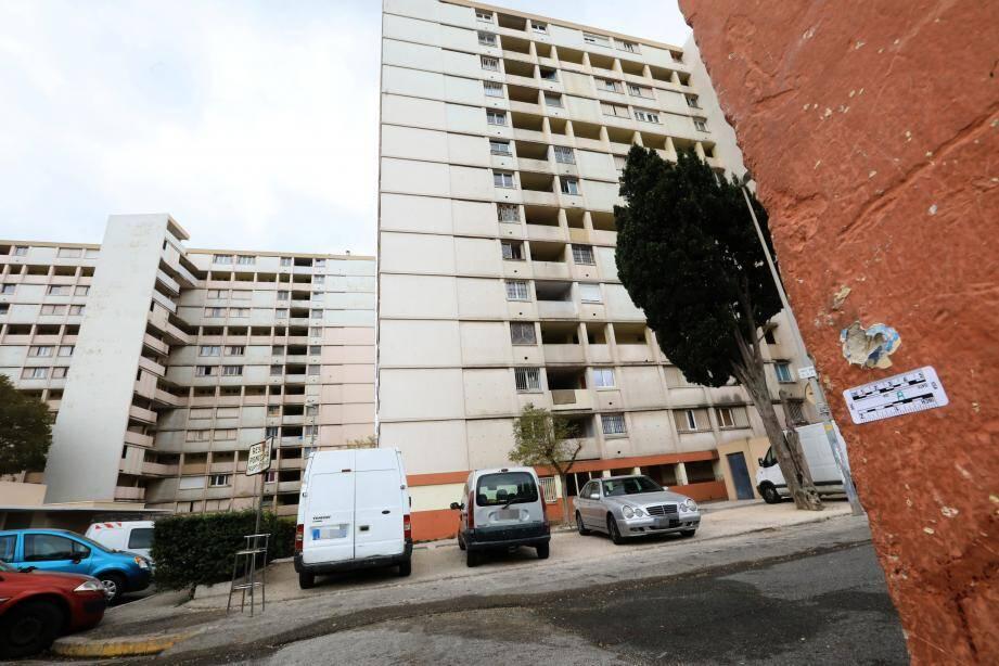 La résidence Pontcarral est considérée comme un point noir du trafic de stups à Toulon.