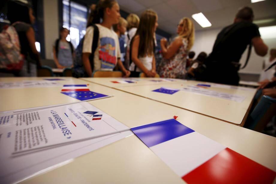 À l'école, au collège, au lycée, les valeurs de la République sont régulièrement mises à l'épreuve