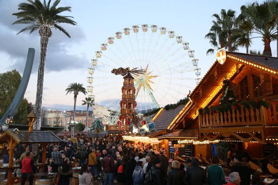 Malgré l'autorisation du gouvernement, certaines villes, comme Nice, ont préféré renoncer à leur marché de Noël.