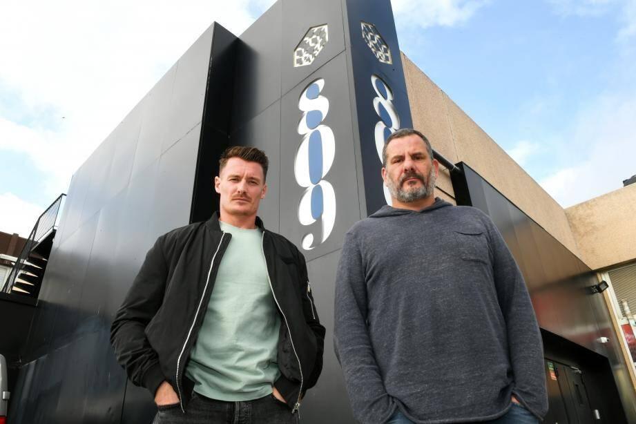 En octobre dernier, Franck Salvatore (à droite) était aux côtés de Sylvain Chabre, co-gérant du 809 Social Club