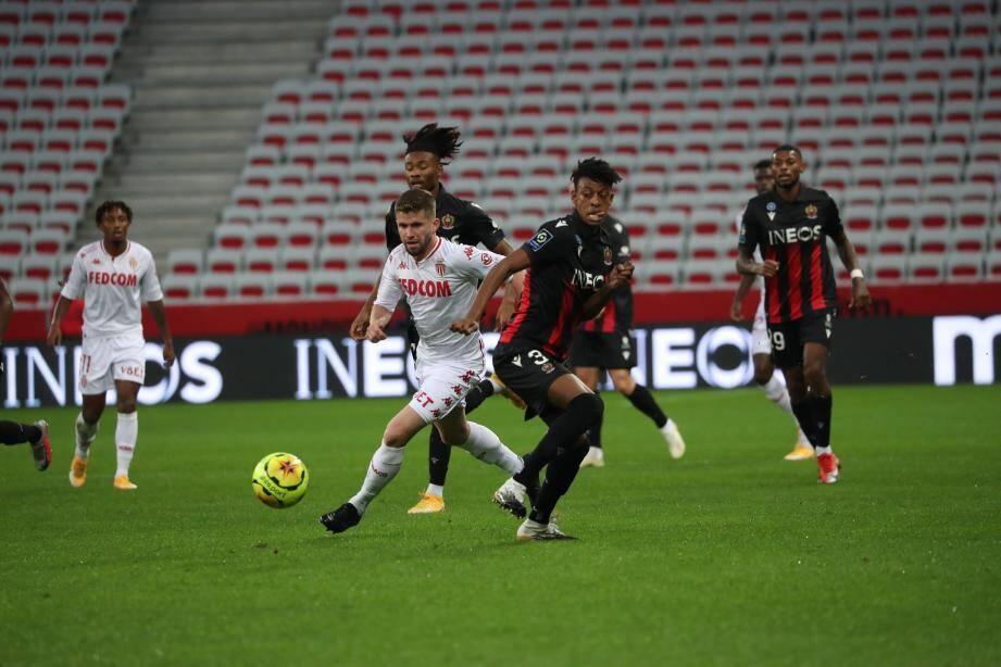 Le Derby de la Côte d'Azur tourne pour le moment à l'avantage de l'AS Monaco.
