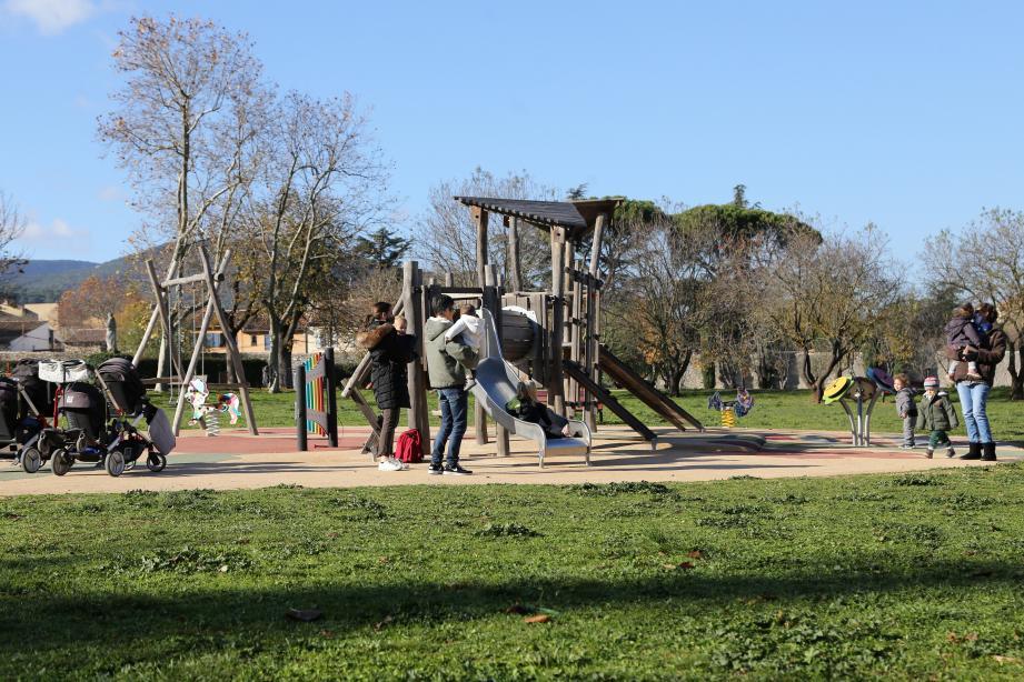 Même pendant le confinement, la structure est fréquentée quotidiennement par des enfants ravis.
