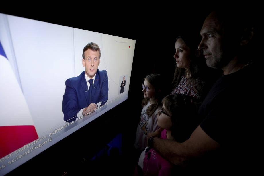 Emmanuel Macron s'exprime ce soir à 20h.