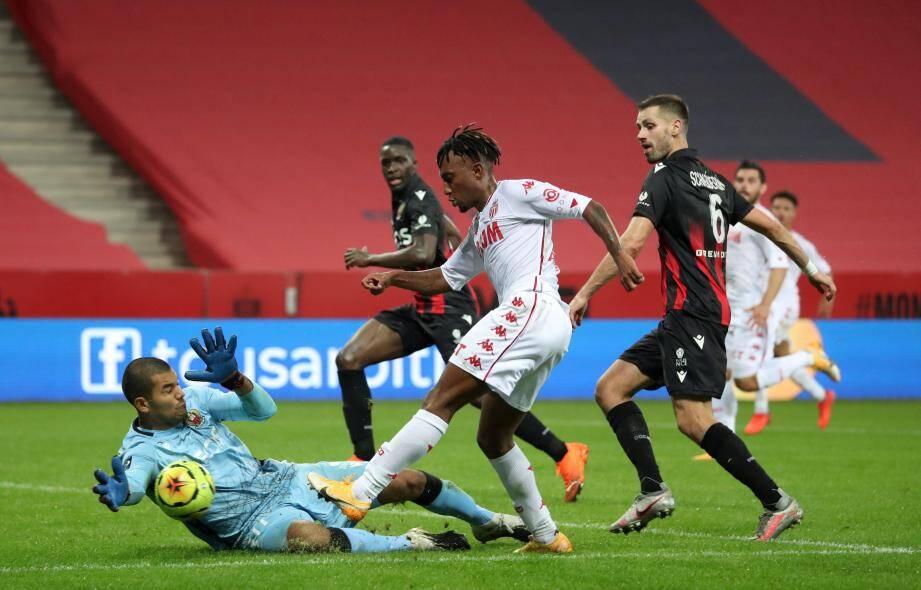 Walter Benitez a empêché l'AS Monaco de prendre le large en première mi-temps.