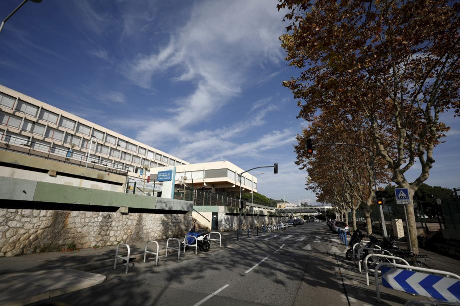 Le campus Carlone de la Fac de lettres de Nice.