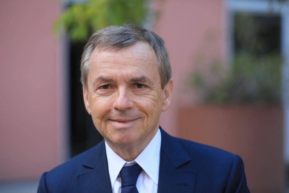 Alain Weill, PDG d'Altice, le groupe de SFR, à Nice ce vendredi.