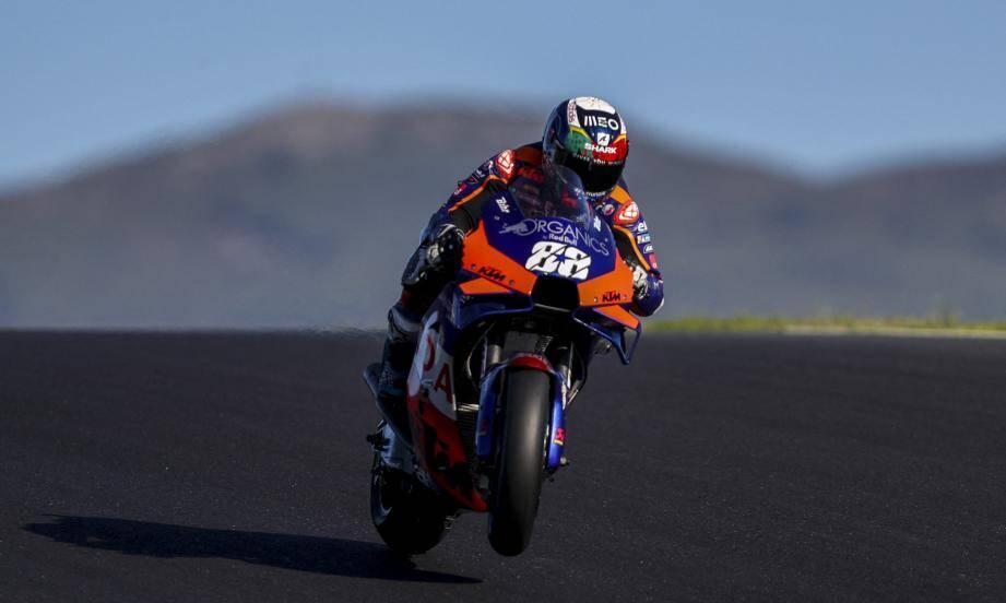 Au guidon de sa KTM varoise, Miguel Oliveira s'est transcendé à domicile.