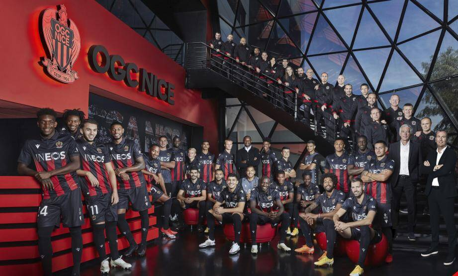 L'OGC Nice dévoile la photo officielle de la saison 2020-2021