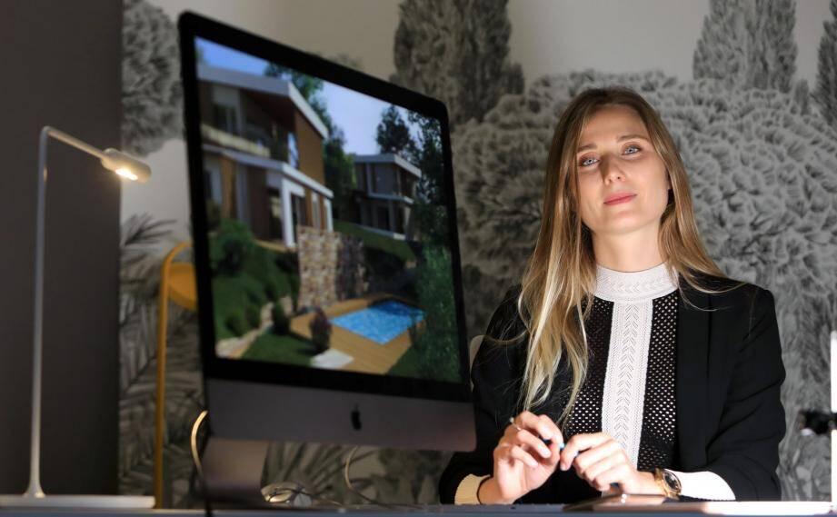 Derrière cette tête bien faite : l'architecte Julie Démoulins. Elle met son talent au service de l'environnement et du bien-vivre et monte sa propre agence d'« architecture passive » : Ovation.
