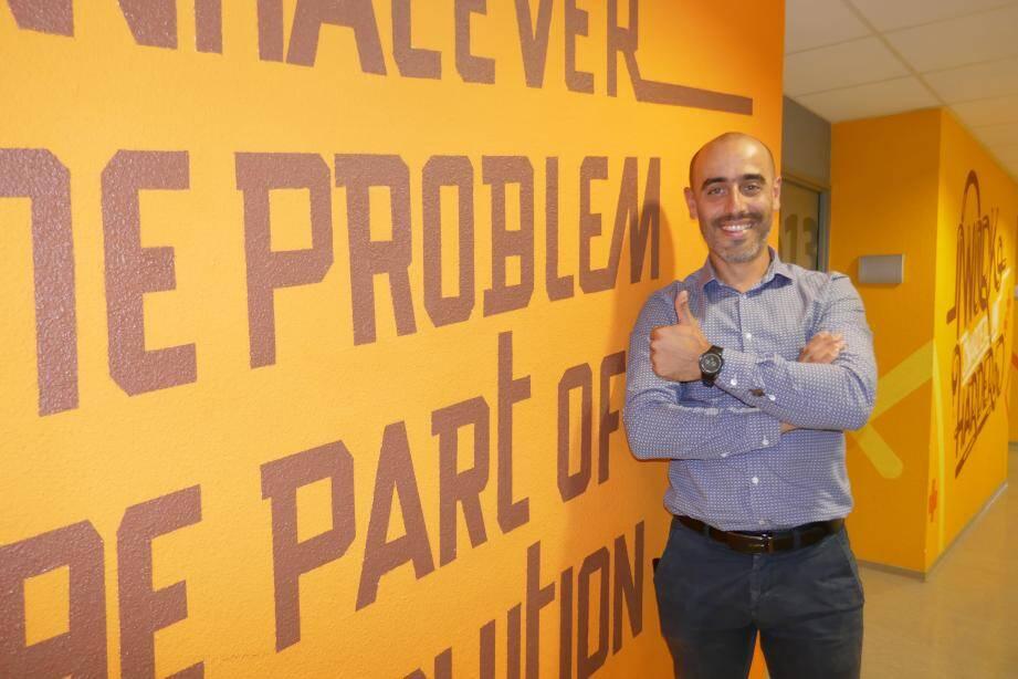 """Pour Nicolas Estellin, créateur d'Activizio: """"Notre objectif est de replacer l'humain au cœur du digital malgré la situation Covid complexe pour l'événementiel corporate et la communication interne des entreprises."""""""