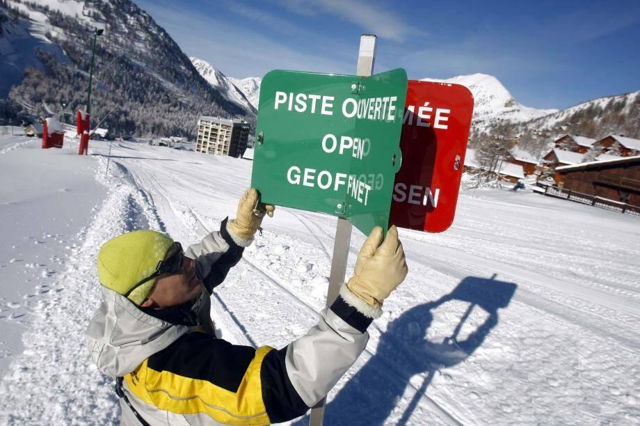 L'incertitude plane sur les stations de ski.
